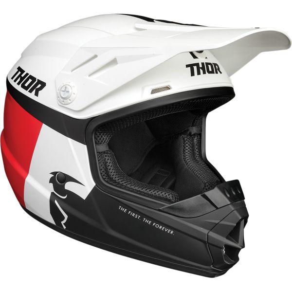Casti MX-Enduro Copii Thor Casca MX Copii Sector Racer Multicolor/Alb 2020
