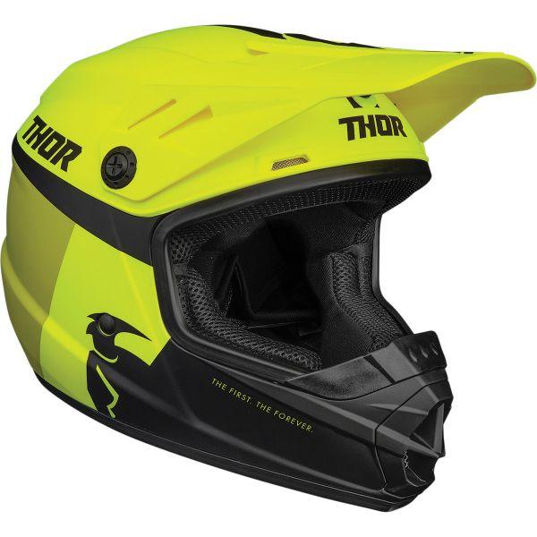 Casti MX-Enduro Copii Thor Casca MX Copii Sector Racer Multicolor/Galben 2020