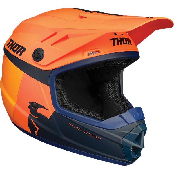 Casti MX-Enduro Copii Thor Casca MX Copii Sector Racer Multicolor/Portocaliu 2020