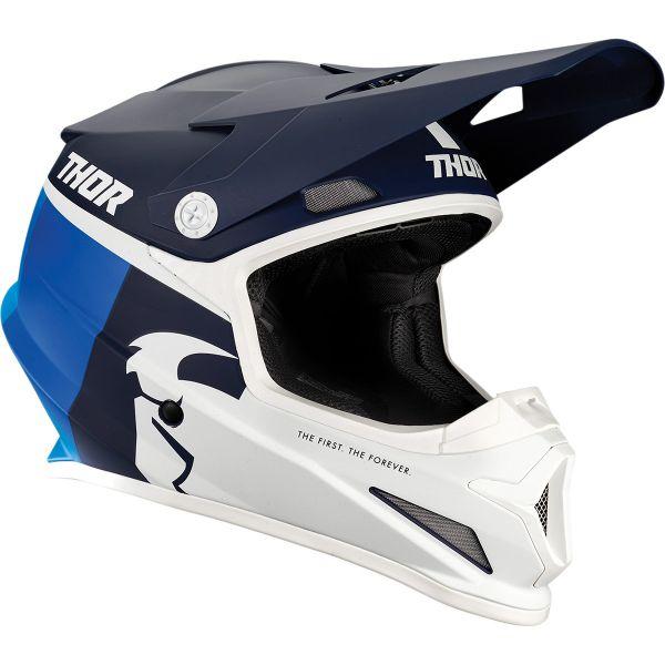 Casti MX-Enduro Thor Casca MX Sector Racer Multicolor/Albastru 2020
