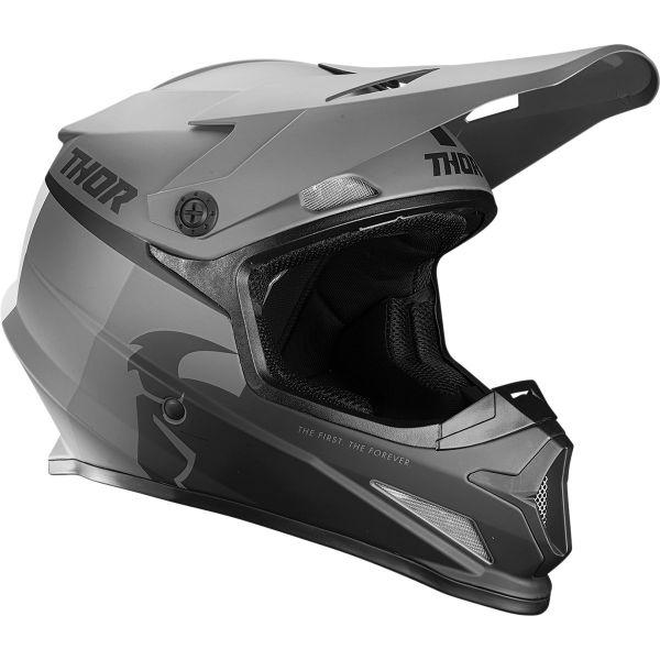 Casti MX-Enduro Thor Casca MX Sector Racer Negru Mat/Gri 2020