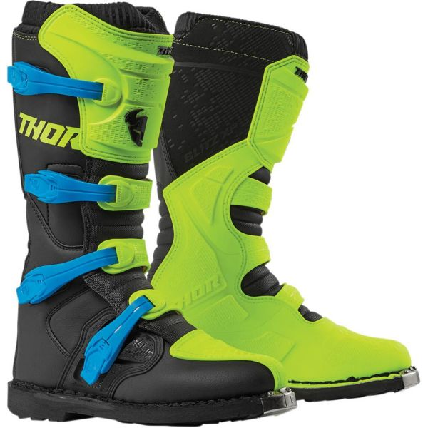 Cizme MX-Enduro Thor Cizme Blitz XP Acid/Black S9