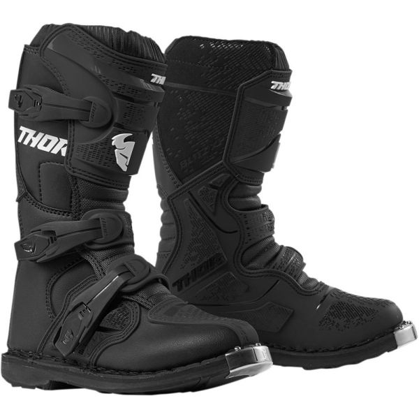 Cizme MX-Enduro Copii Thor Cizme Blitz XP Black S9 Copii