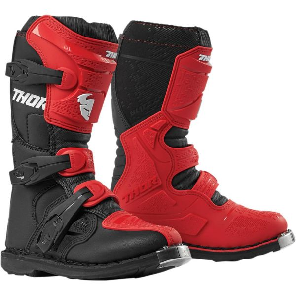 Cizme MX-Enduro Copii Thor Cizme Blitz XP Red/Black S9 Copii