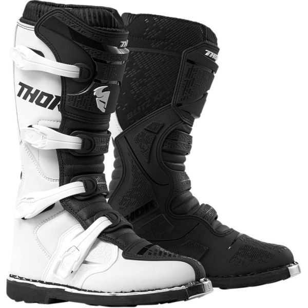 Cizme MX-Enduro Thor Cizme Blitz XP White/Black S9