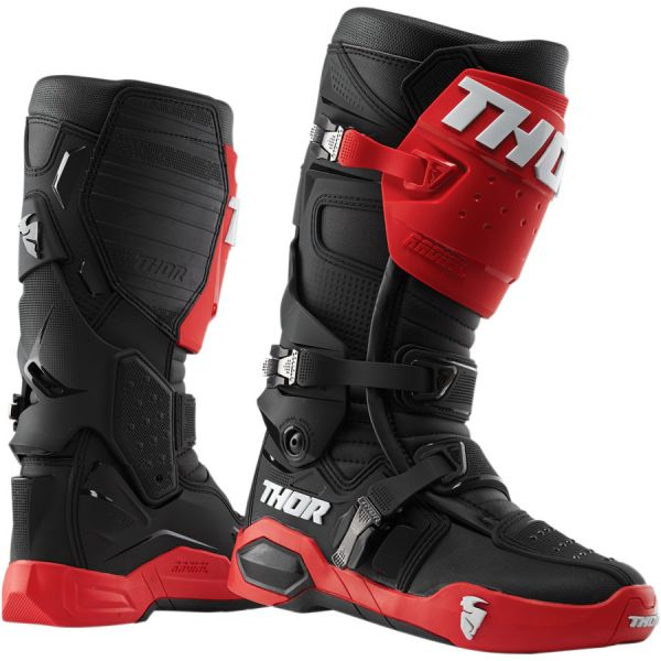 Cizme MX-Enduro Thor Cizme Radial Red/Black 2019