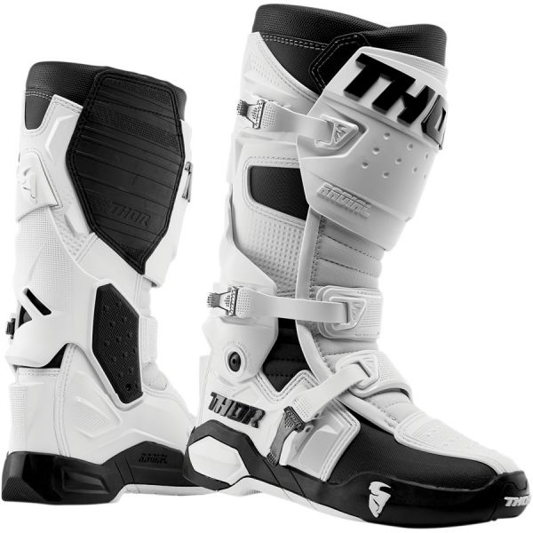 Cizme MX-Enduro Thor Cizme Radial White/Black 2019