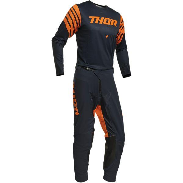 Combo MX Enduro Thor Combo Pantaloni + Tricou Prime Pro Strut S20 Blue/Orange