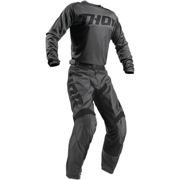 Combo MX Enduro Thor Combo Tricou + Pantaloni Pulse Smoke S9