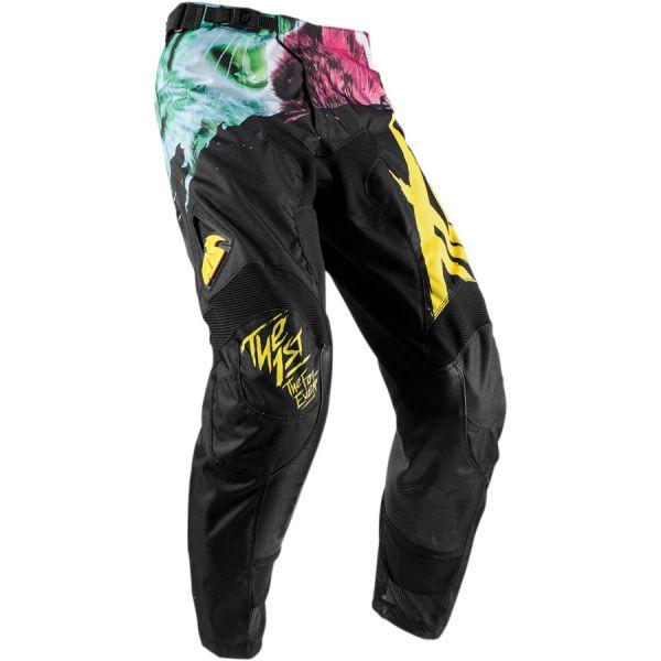 Pantaloni MX-Enduro Thor LICHIDARE STOC Pantaloni Pulse Kitn Black/Yellow S8
