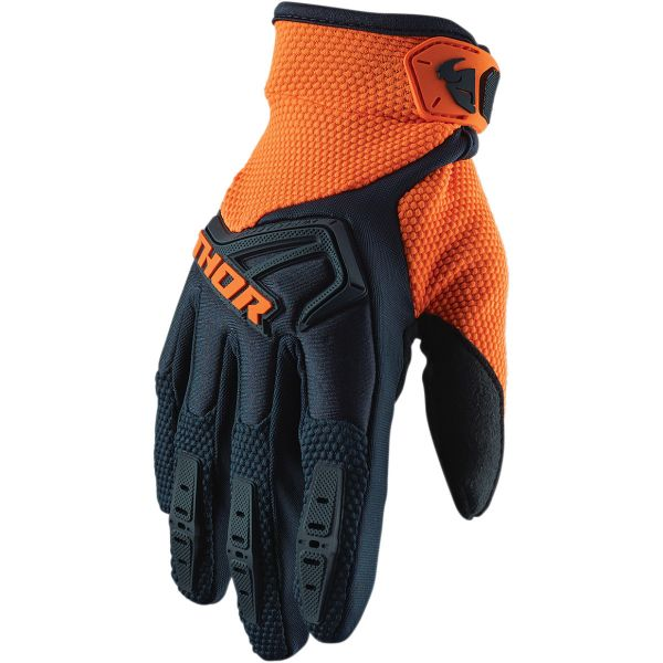 Manusi MX-Enduro Copii Thor Manusi Copii Spectrum S20 Black/Orange