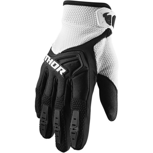 Manusi MX-Enduro Copii Thor Manusi Copii Spectrum S20 Black/White