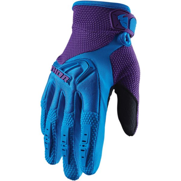 Manusi MX-Enduro Thor Manusi Dama Spectrum S20 Blue/Purple