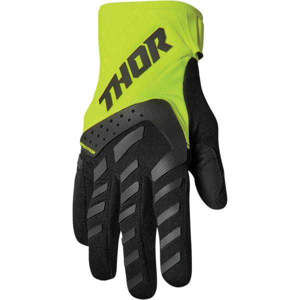 Gloves MX-Enduro Thor Manusi Moto MX Spectrum Black/Flo Acid 2022