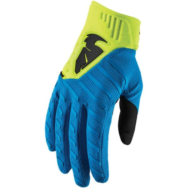 Manusi MX-Enduro Thor Manusi Rebound Electric Blue/Acid S9