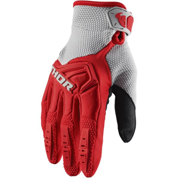 Manusi MX-Enduro Thor Manusi Spectrum S20 Red/Gray