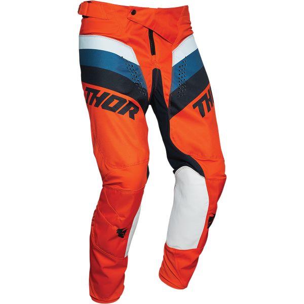 Pantaloni MX-Enduro Thor Pant Pulse Racer Multicolor Portocaliu 2020