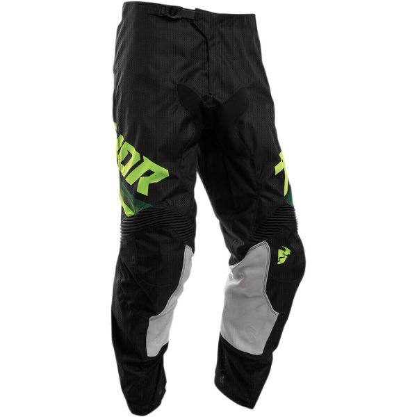 Pantaloni MX-Enduro Copii Thor Pantaloni Copii Pulse Air S20 Black/Acid