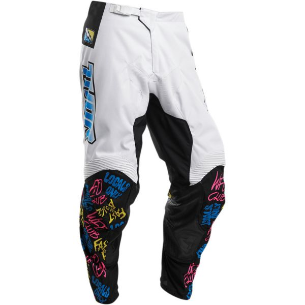 Pantaloni MX-Enduro Copii Thor Pantaloni Copii Pulse Fast Boyz S20 White