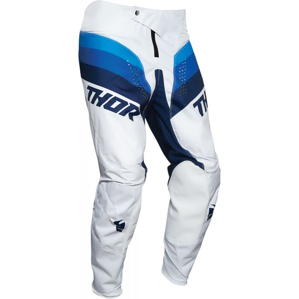 Pantaloni MX-Enduro Copii Thor Pantaloni Copii Pulse Racer Multicolor Alb 2020