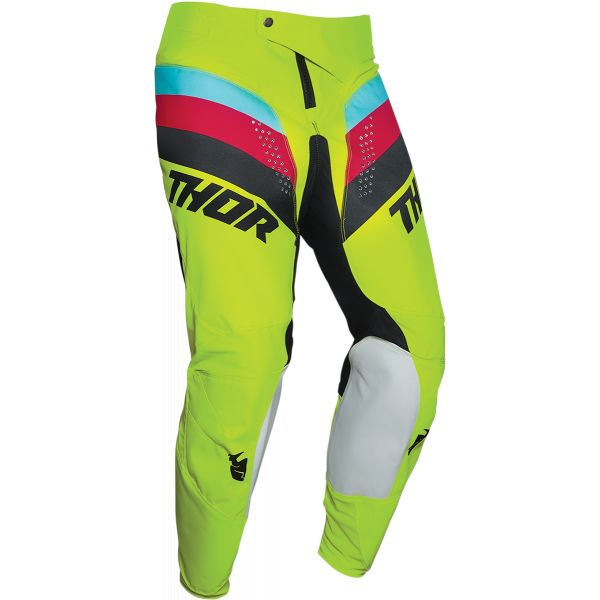 Pantaloni MX-Enduro Copii Thor Pantaloni Copii Pulse Racer Multicolor Galben 2020