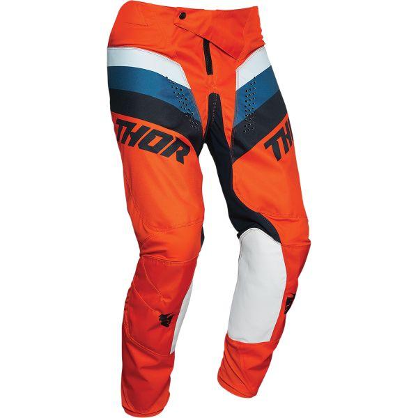 Pantaloni MX-Enduro Copii Thor Pantaloni Copii Pulse Racer Multicolor Orange 2020