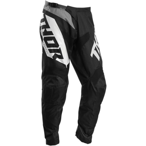 Pantaloni MX-Enduro Copii Thor Pantaloni Copii Sector Blade S20 Black/White