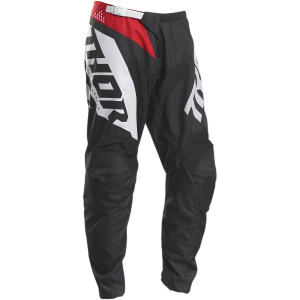 Pantaloni MX-Enduro Copii Thor Pantaloni Copii Sector Blade S20 Charcoal/Red