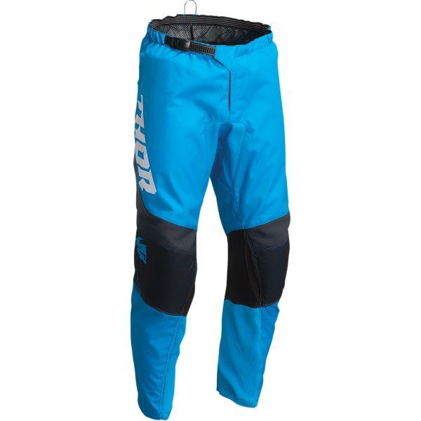 Pantaloni MX-Enduro Copii Thor Pantaloni Moto MX Copii Sector Chev Blue/Midnight 2022