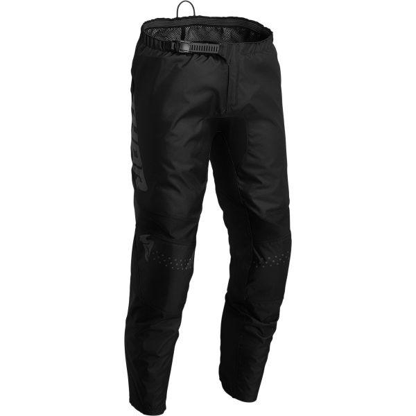Pantaloni MX-Enduro Copii Thor Pantaloni Moto MX Copii Sector Minimal Black 2022