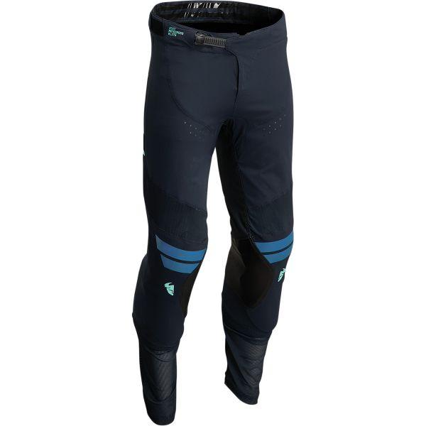 Pantaloni MX-Enduro Thor Pantaloni Moto MX Prime Hero Midnight/Teal 2022
