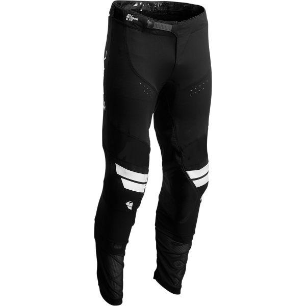 Pantaloni MX-Enduro Thor Pantaloni Moto MX Prime Hero White/Black 2022