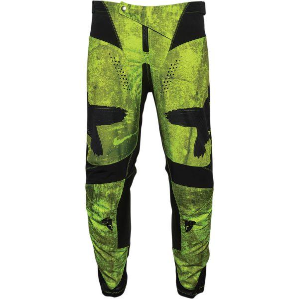 Pantaloni MX-Enduro Thor Pantaloni Moto MX Pulse Hazard Acid/Black