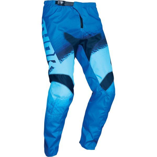 Pantaloni MX-Enduro Copii Thor Pantaloni MX Copii Sector Vapor Albastru 2020