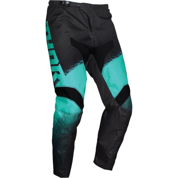 Pantaloni MX-Enduro Thor Pantaloni MX Sector Vapor Gri/Verde 2020