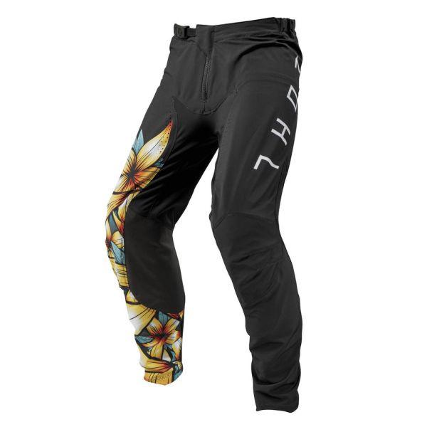 Pantaloni MX-Enduro Thor Pantaloni Prime Pro Floral Black/Multi S9