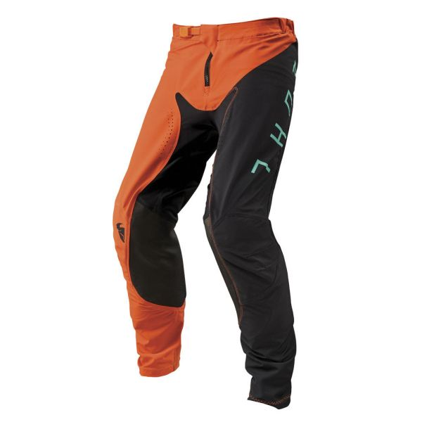 Thor Pantaloni Prime Pro Jet Black/Red Orange S9