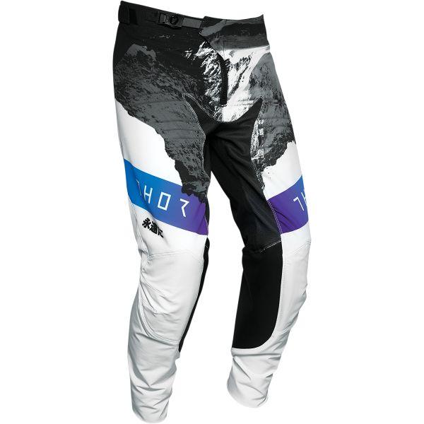 Pantaloni MX-Enduro Thor Pantaloni Prime Pro Mesmer Multicolor Alb 2020