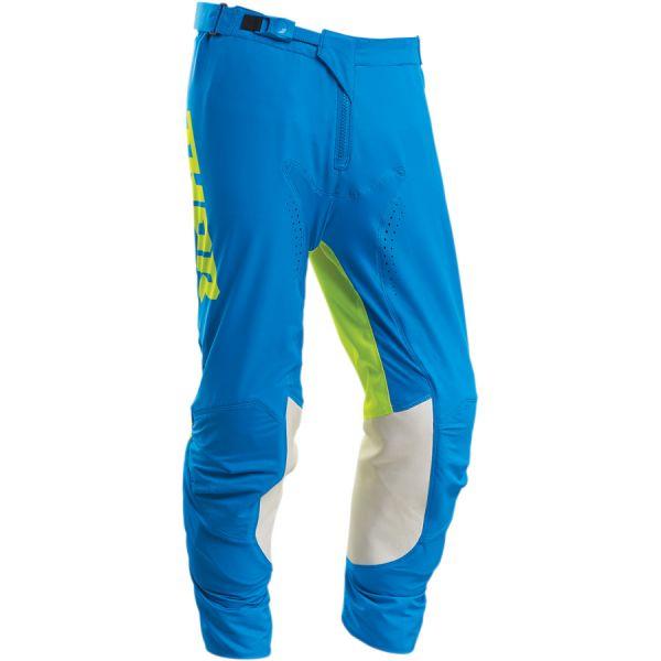 Pantaloni MX-Enduro Thor Pantaloni Prime Pro Strut S20 Electric Blue/Acid