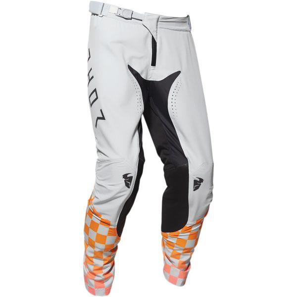 Pantaloni MX-Enduro Thor Pantaloni Prime Pro Trend Gray/Orange 2020