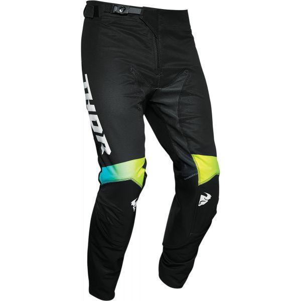 Pantaloni MX-Enduro Thor Pantaloni Prime Pro United Multicolor Negru 2020
