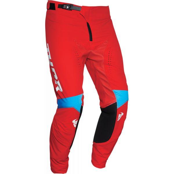 Pantaloni MX-Enduro Thor Pantaloni Prime Pro United Multicolor Rosu 2020