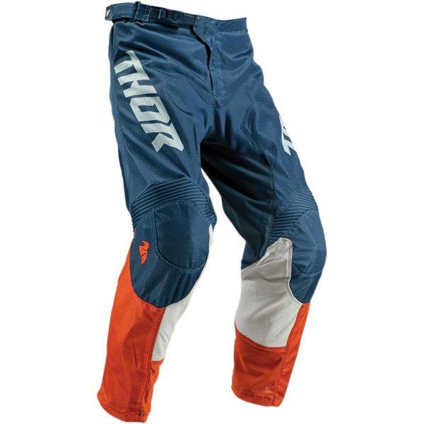 Pantaloni MX-Enduro Copii Thor Pantaloni Pulse Air Acid Red/Orange/Slate S9 Copii