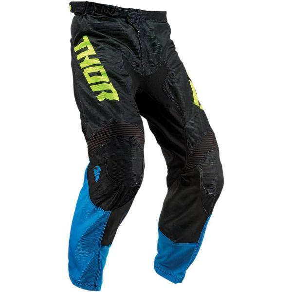 Pantaloni MX-Enduro Copii Thor Pantaloni Pulse Air Electric Blue/Black S9 Copii