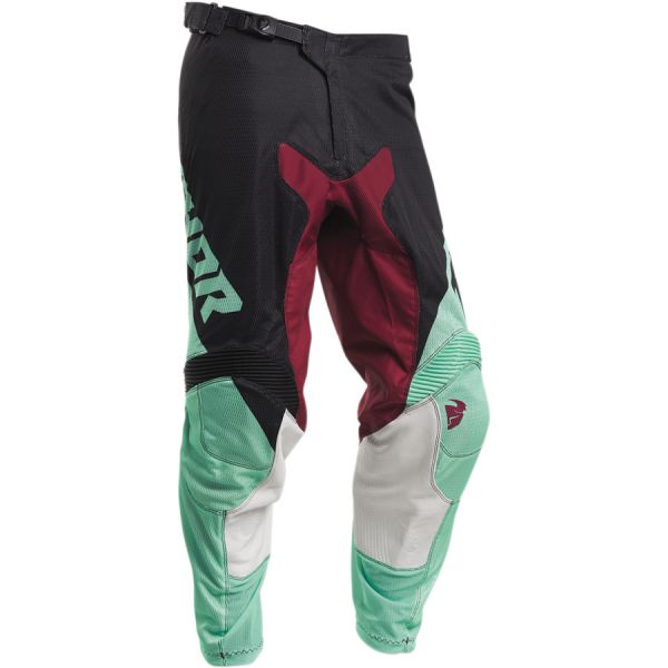 Pantaloni MX-Enduro Thor Pantaloni Pulse Air Factor S20 Black/Mint
