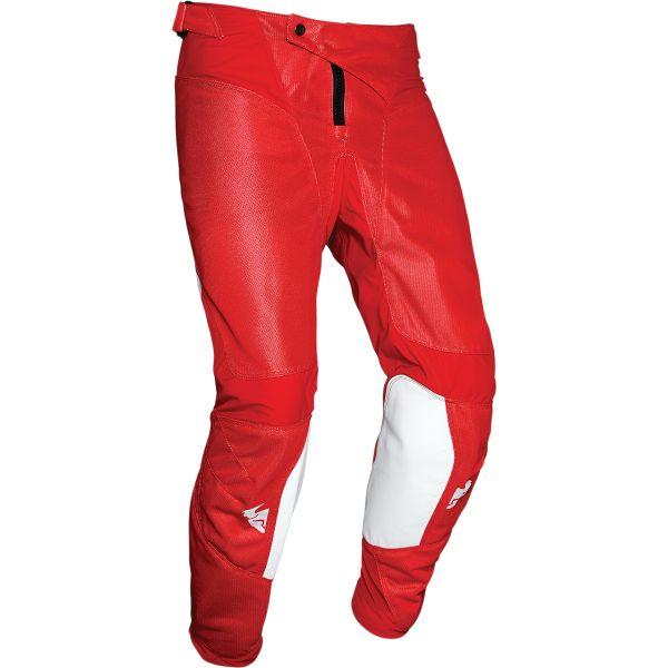 Pantaloni MX-Enduro Thor Pantaloni Pulse Air Radiate Alb/Rosu 2020