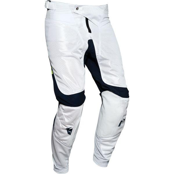 Pantaloni MX-Enduro Thor Pantaloni Pulse Air Radiate Albastru/Alb 2020