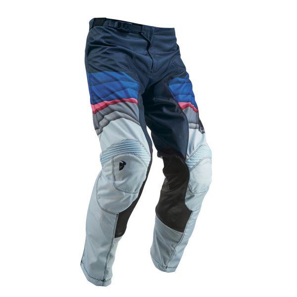 Pantaloni MX-Enduro Thor Pantaloni Pulse Depth Ocean/Pink S9 Dama