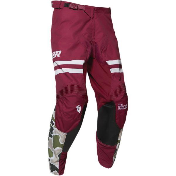 Pantaloni MX-Enduro Thor Pantaloni Pulse Fire Black/Magenta 2020