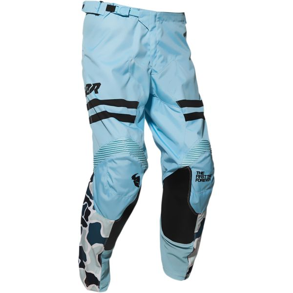Pantaloni MX-Enduro Thor Pantaloni Pulse Fire Midnight/Powder Blue 2020
